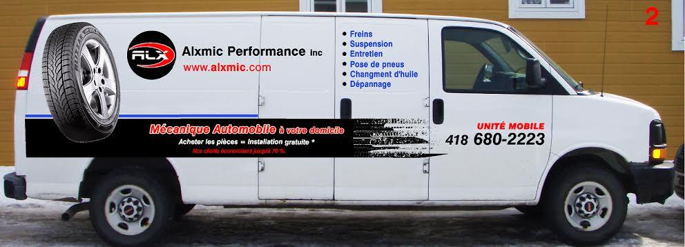 installation gratuite de vos pièces auto par notre unité mobile de mécanique auto